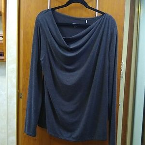Road&Co XL long sleeve cowl neck top